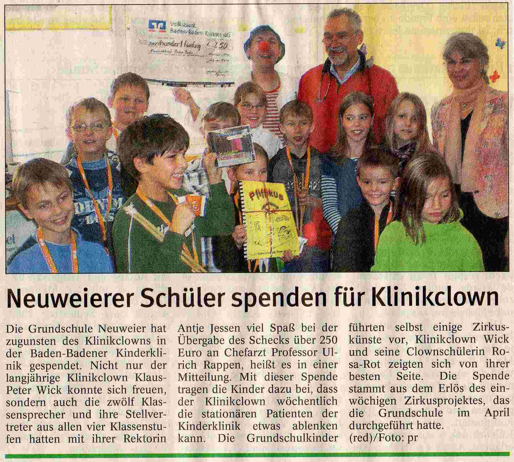 clowndoktor_badisches_tagblatt_november_2008